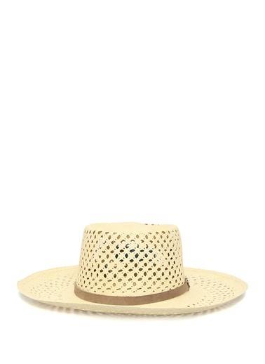 Ecua-Andino Panama Şapka Krem